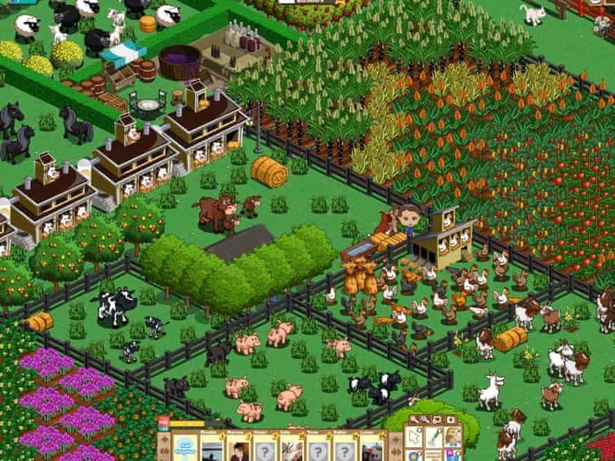 Farmville... compulsive.