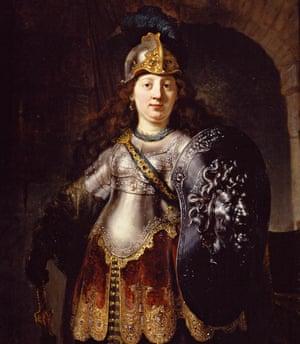 Goddesses … Rembrandt's Bellona