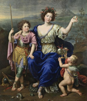 Goddesses … The Marquise de Seignelay and Two of her Sons