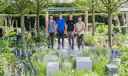 'Hope on the Horizon' garden RHS Chelsea Flower Show London