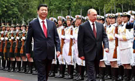 Russian President Vladimir Putin On An Official Visit To China