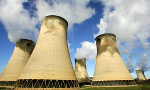 The Drax coal power station, the UK's largest CO2 emitter.