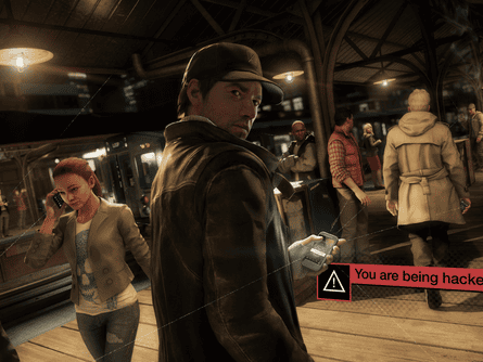 In the new Watch Dogs game by Ubisoft, players hack the city to use as their weapon