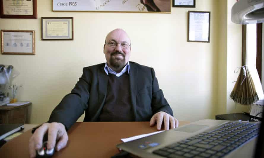 Spanish lawyer Mario Costeja González