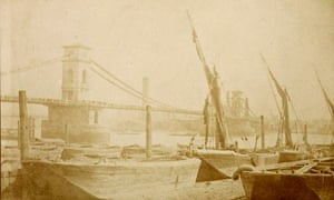 Fox Talbot Brunel Hungerford bridge