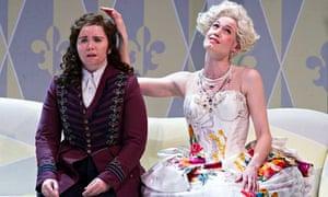 Tara Erraught as Octavian and Kate Royal as the Marschallin in Der Rosenkavalier