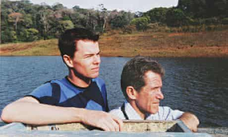 Lord Browne with his first boyfriend, Jeff Chevalier