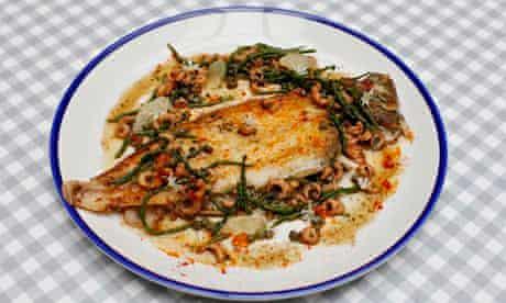 Lemon sole crab, Bonnie Gull Seafood Cafe