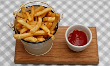Skinny fries, Bonnie Gull Seafood Cafe