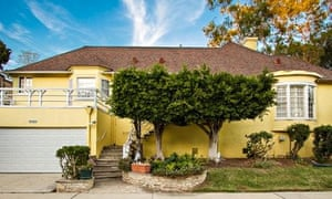 Ray Bradbury's former house in Culver City, California