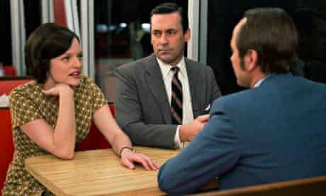 Peggy, Don and Pete from Mad Men