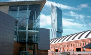 Manchester city centre could be 1.5 degrees cooler despite global warming if 10% more green spaces were added.