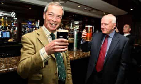 Nigel Farage visits Ulster