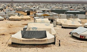 Zaatari refugee camp.