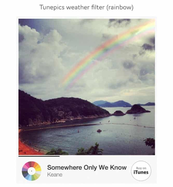 Tunepics' weather filter