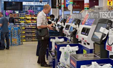 Tesco self-service checkout