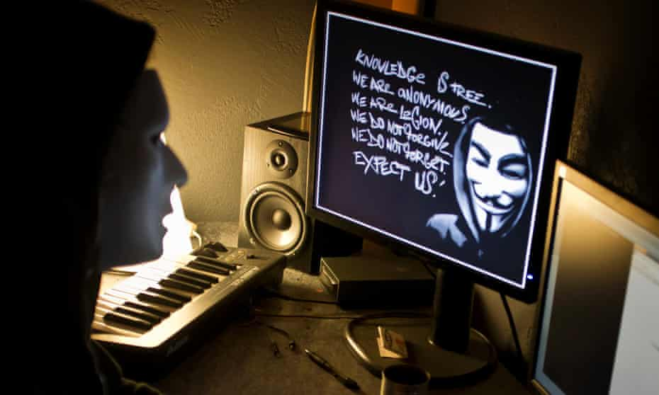 Anonymous hacking group