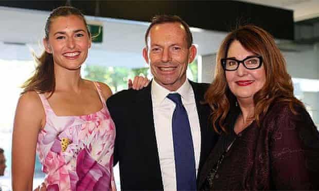 Frances Abbott, Tony Abbott and Leanne Whitehouse