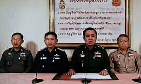 Thai Army chief seizes power after reconciliation talks fail