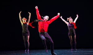 A scene from Rooster by Christopher Bruce and Rambert Dance Company