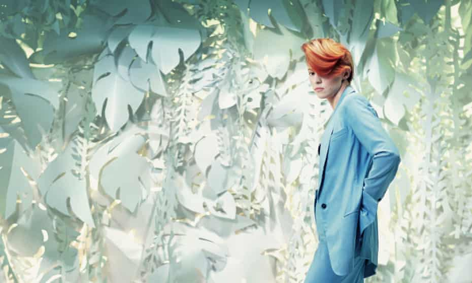La Roux photographed by Julian Broad for the Observer