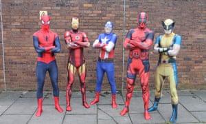 Marvel Morph Suits