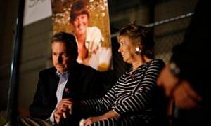 Sarah Jones memorial parents Richard and Elizabeth