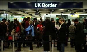 The data is based on the International Passenger Survey, which questions people entering through UK borders.