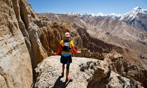 The wondrous Mustang trail race – looking down on eagles  dabb81f641
