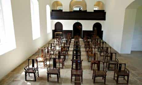 ai weiwei fairytale 1001 chairs yorkshire sculpture park chapel