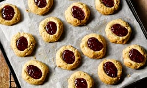 Yotam Ottolenghi's spicy linzer thumbprint cookies