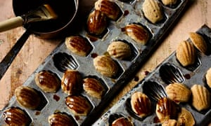 Yotam Ottolenghi's coffee, cardamom and walnut 'madeleines'