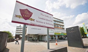 London School of Science and Technology where the Guardian investigated alleged public funds misuse
