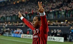 AC Milan's Brazilian forward Robinho may be heading to MLS.