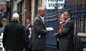 Brick Lane polling station