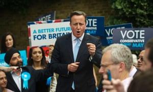 David Cameron in Ealing