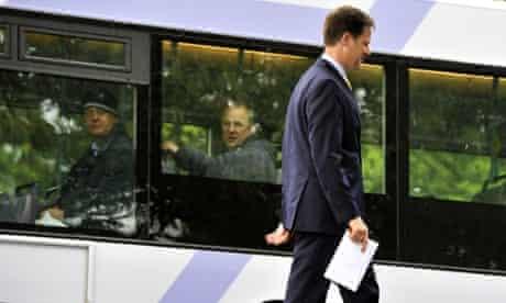 Clegg votes in Sheffield