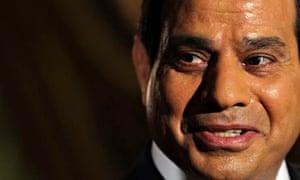 Presidential candidate Abdel Fatah al-Sisi