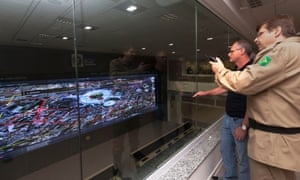 Military and police commanders will run Rio's World Cup security operations from their own Integrated Command and Control Centre.