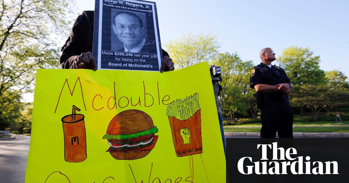 McDonald's workers and activists stage second day of ...