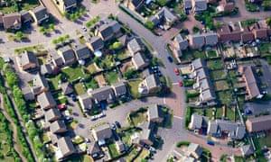 A Milton Keynes residential neighbourhood