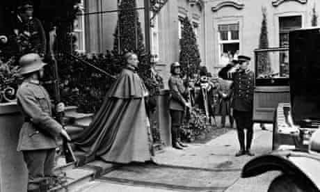 Pope Pius XII, as papal diplomat Eugenio Pacelli, in Berlin.