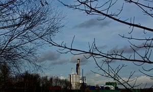 Fracking test site