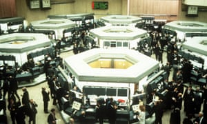 The trading floor of the London Stock Exchange as the Big Bang reforms took effect.