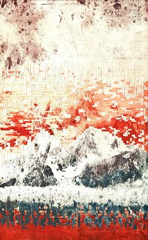 Elise Wehle artwork: 123rf paper artwork in red