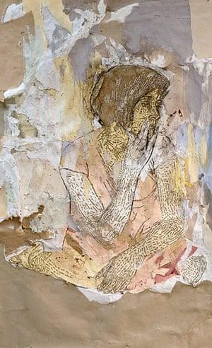 Elise Wehle artwork: A Five Month Self Portrait by Elise Wehle