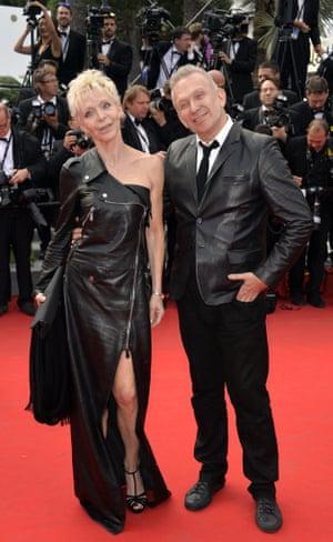 Tonie Marshall and Jean Paul Gaultier
