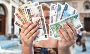 Cuba currency notes