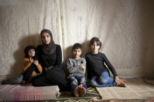Syrian refugees in Beirut