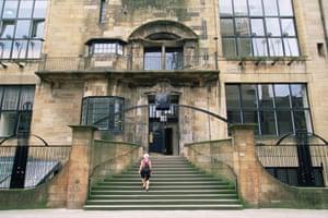 Glasgow School of Art, designed by the architect Charles Rennie Mackintosh, Glasgow, Scotland,